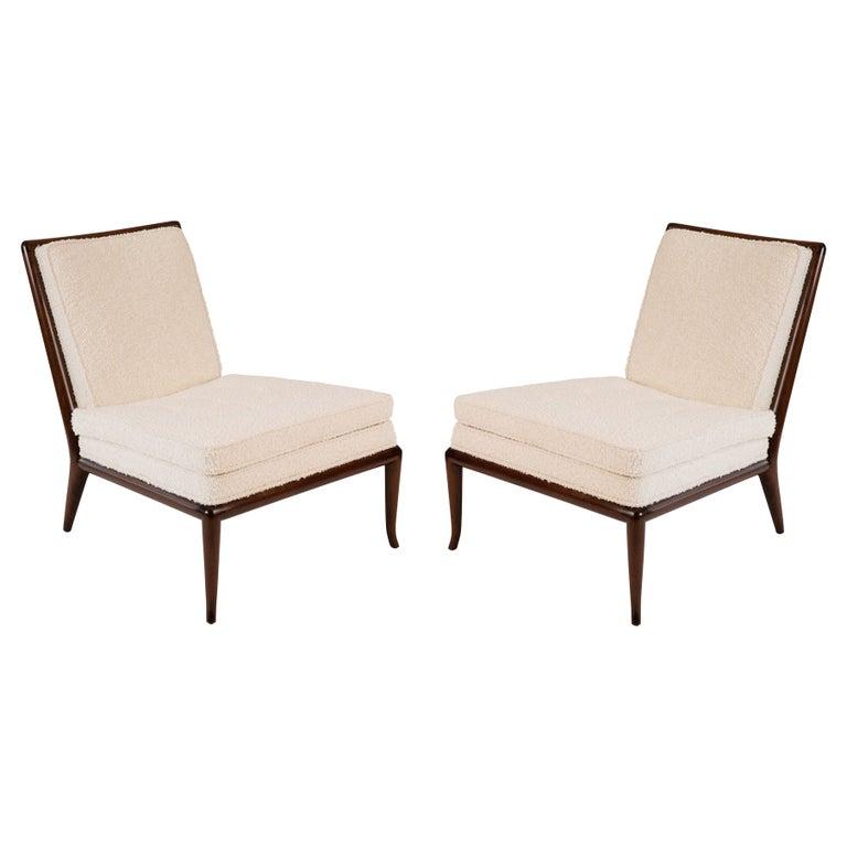 T.H. Robsjohn-Gibbings Widdicomb Slipper Chairs For Sale