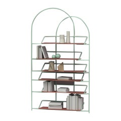 LateB Metal Contemporary Sculptural Bookcase Made in Italy by LapiegaWD
