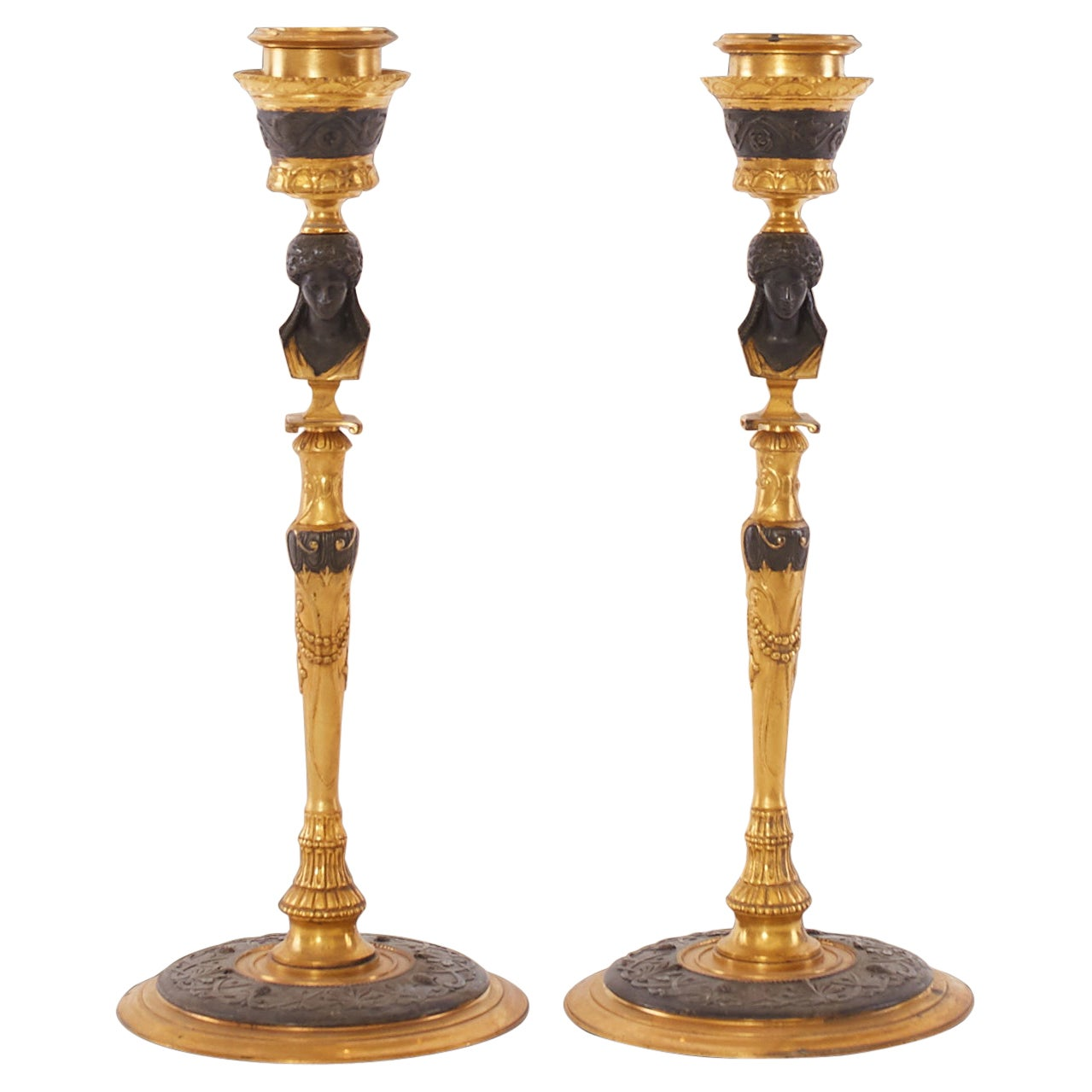 Directoire Candle Holders