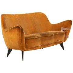 Sofa by Guglielmo Veronesi for ISA Bergamo, Italy, 1950s