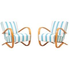 Set of H269 Armchairs by Jindrich Halabala, Czech Republic