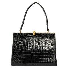 Crocodile Handbag, Vintage