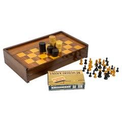 Chessboard, Backgammon, 20th Century