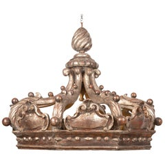 Italian 19th Century Carved Crown