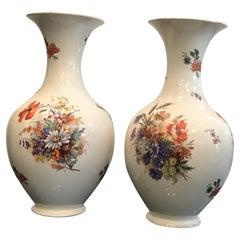 Laveno Couple Vases Ceramic, 1930, Italy