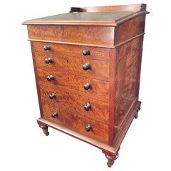19th Century Mahogany Davenport Desk, circa 1850