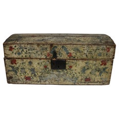 French 18th Century Painted Box