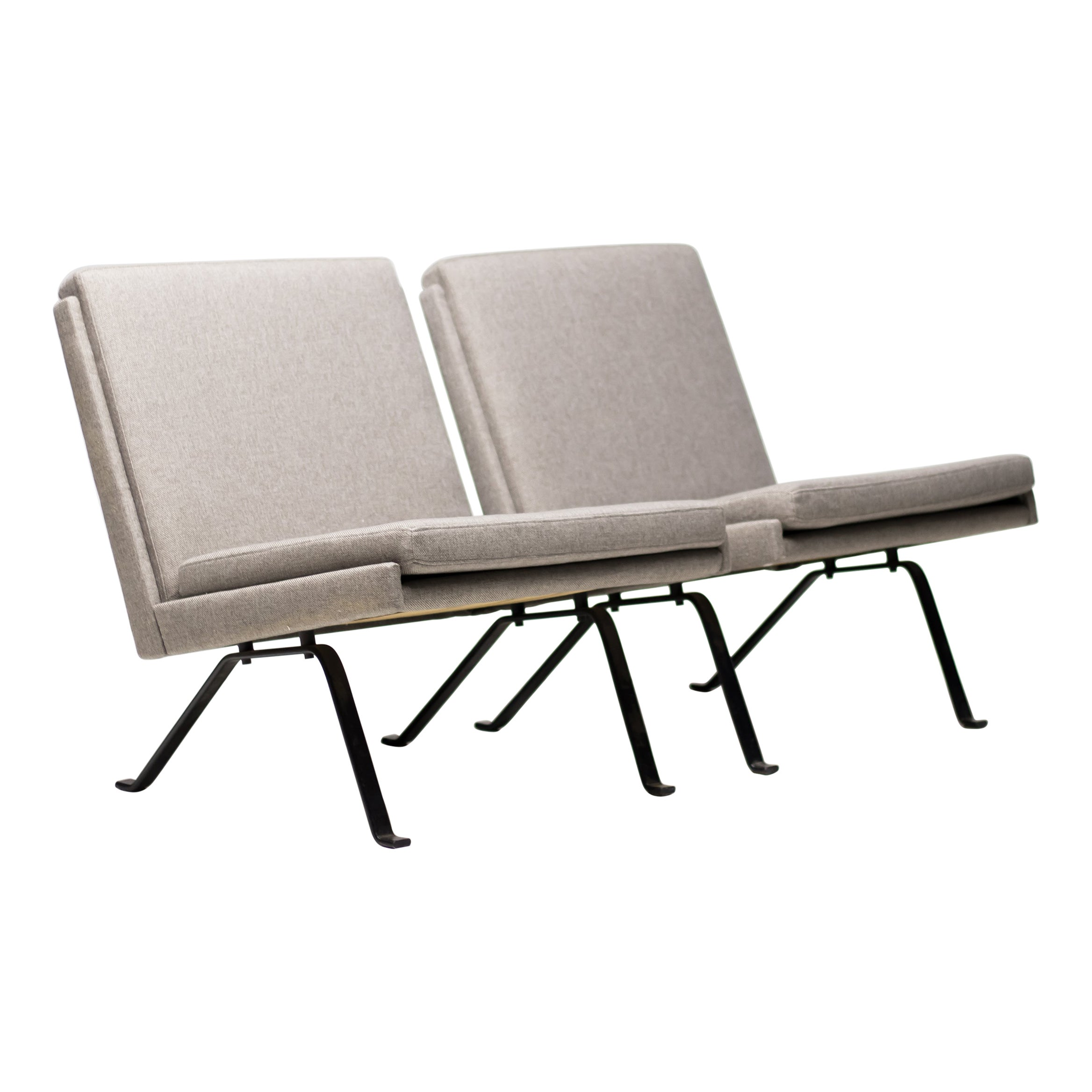 Scandinavian Architectural Lounge Chairs