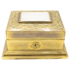 French Louis XVI Bronze Dore Box