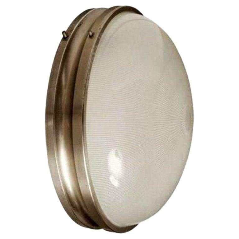 """Applique Wall Lamp, """"Sigma Grande"""" Model Design Sergio Mazza for Artemide, 1960s For Sale"""
