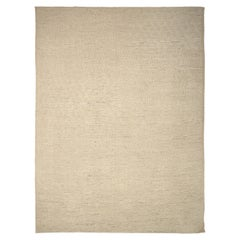 Nazmiyal Collection Beige Geometric Modern Distressed Rug. 16 ft x 20 ft 10 in