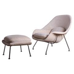 Womb Chair & Ottoman by Eero Saarinen for Knoll