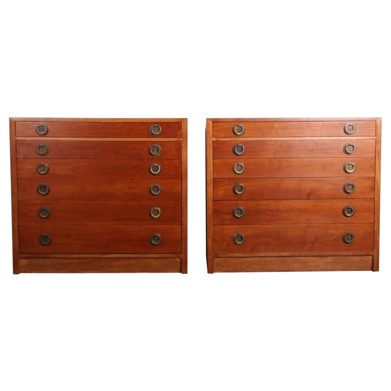 Pair of Chests by Edward Wormley for Dunbar