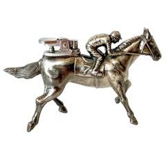 Japanese Horse and Jockey Lighter