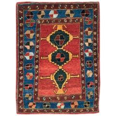 21st Century Handmade Persian Gabbeh Throw Rug