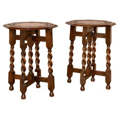 Pair of 19th Century Cocktail Tables