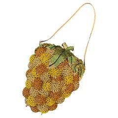 Judith Leiber Style Pineapple Purse