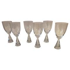 Holmegaard Water Glasses/ Set of 6