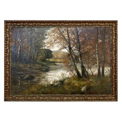 Framed Oil Painting on Canvas by Adolphe Poot '1924 - 2006'
