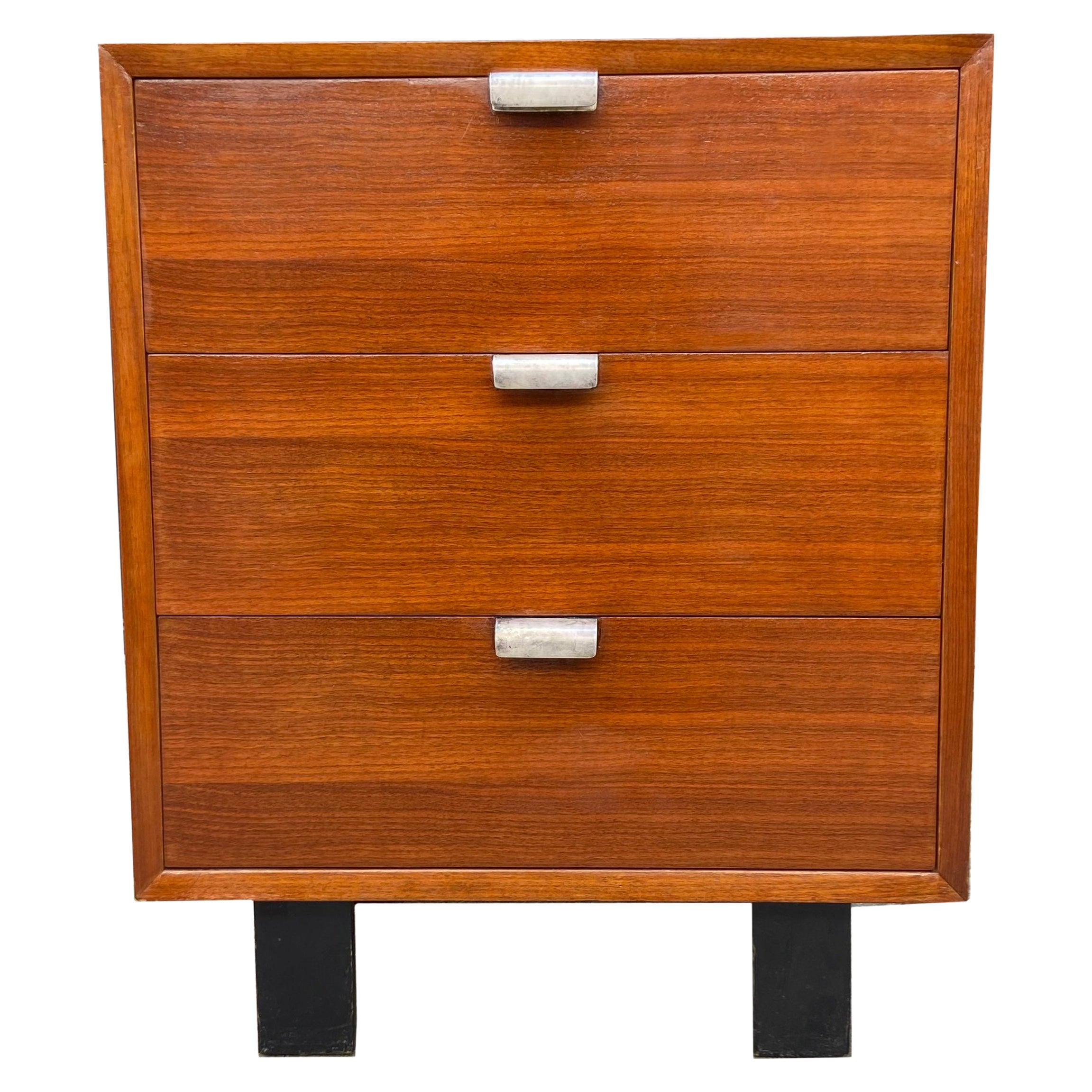 Midcentury George Nelson Three Drawer Cabinet for Herman Miller