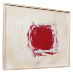 Abstract Splotch Oil Painting by John Hansegger