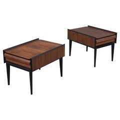 Pair of Mid-Century Modern Lacquered Side Tables