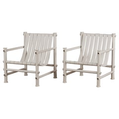 """Pair of Jerry Johnson Outdoor """"Idyllwild"""" Lounge Chairs"""