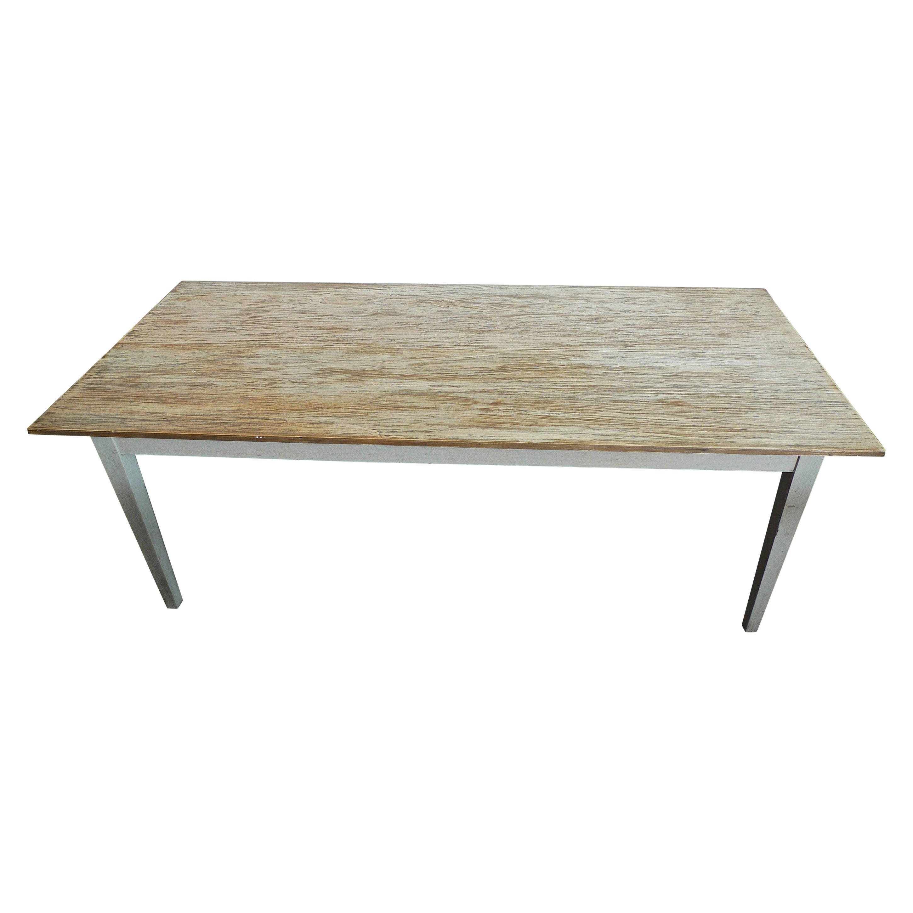 Contemporary French Country Farmhouse Dining Table