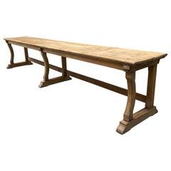 19th Century Oak Bench