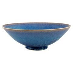 Sven Wejsfelt, Gustavsberg Studiohand, Ceramic Bowl on a Base, 1991