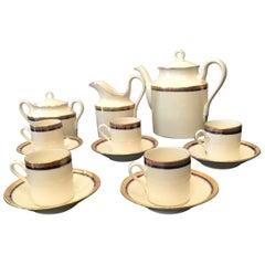 Richard Ginori Porcelain Coffee Service 1960 Italy