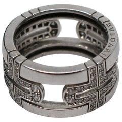 Bulgari Parentesi Diamond Band Ring
