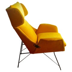 Vintage Armchair Design Augusto Bozzi for Saporiti, 1950s