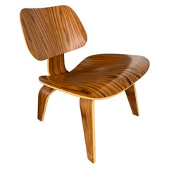 Eames Molded LCW Chair in Santos Palisander by Herman Miller