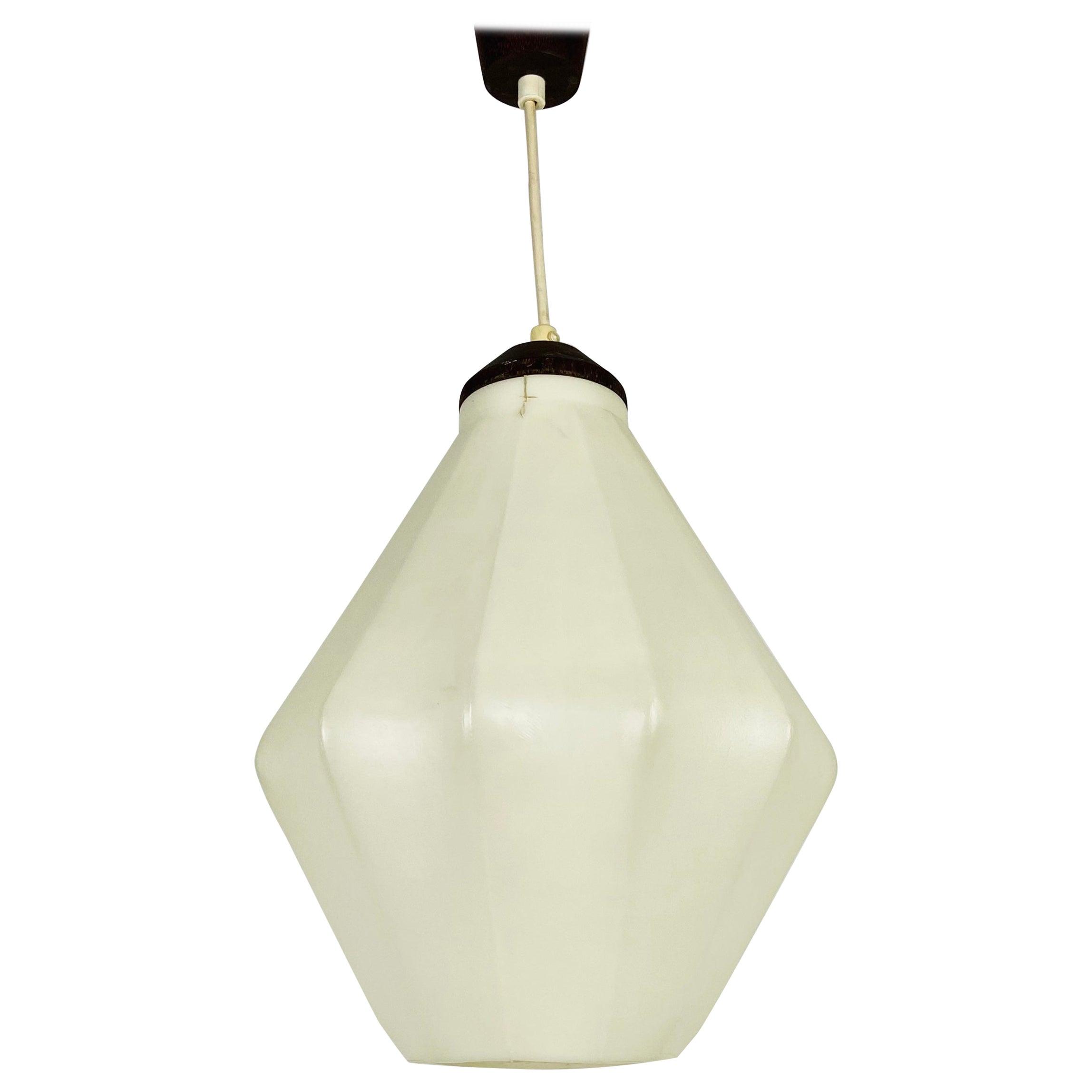 Losange Cocoon Pendant Light in the Style of Achille Castiglioni, 1960s, Italy