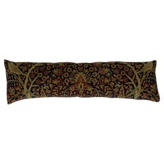 Small Antique Hand Woven Pictorial Hand Woven Pillow