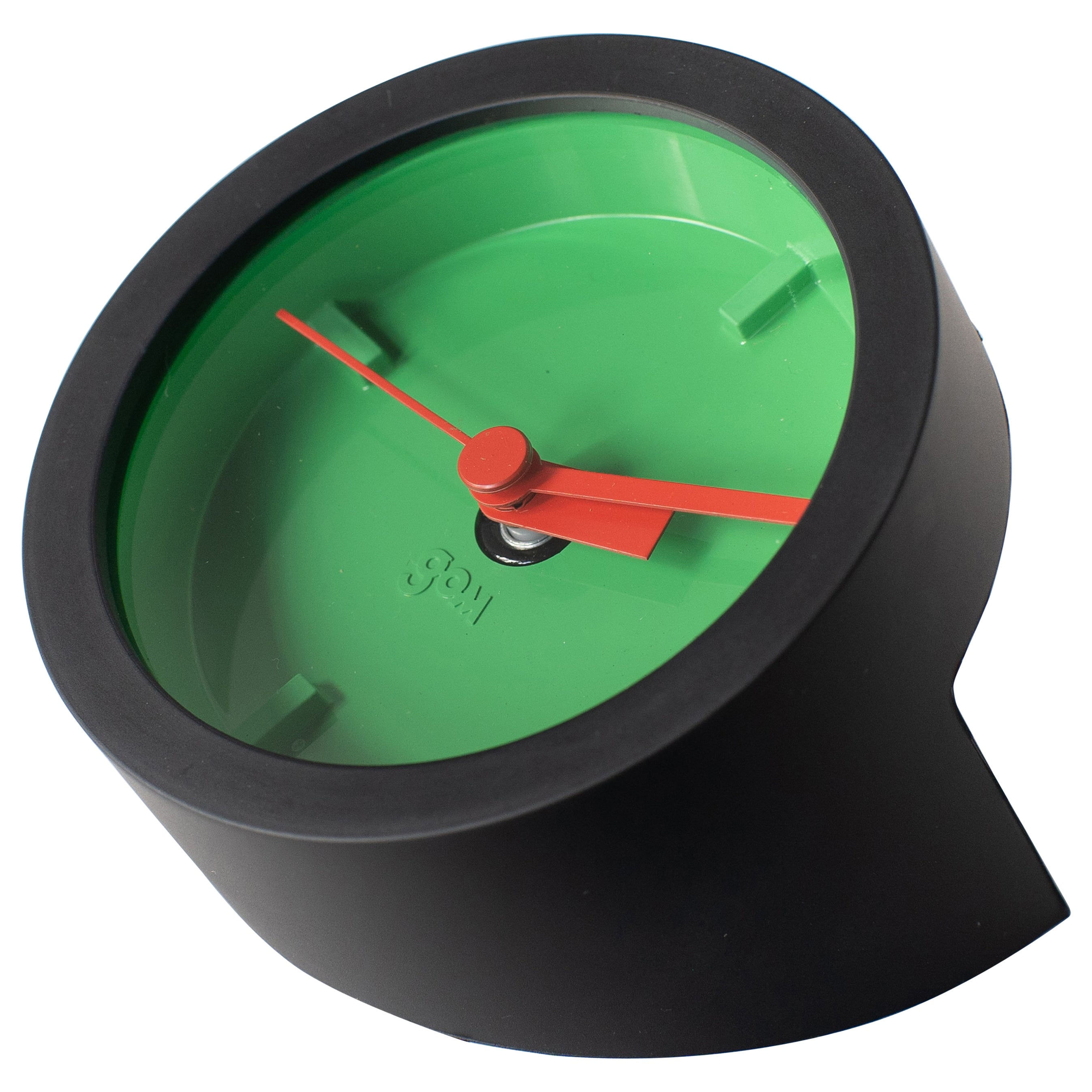 Table Clock1 Masayuki Kurokawa Gom Green Postmodern 1980s