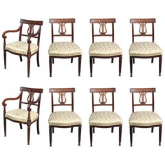 Antique Set of 8 Dining Chairs
