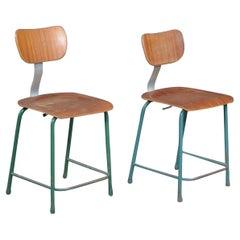 Midcentury Industrial / Work Stools Chairs