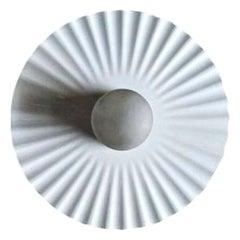 """Wall Lamp """"Plissè"""" Model, Design Achille Castiglioni for Flos, 1985"""