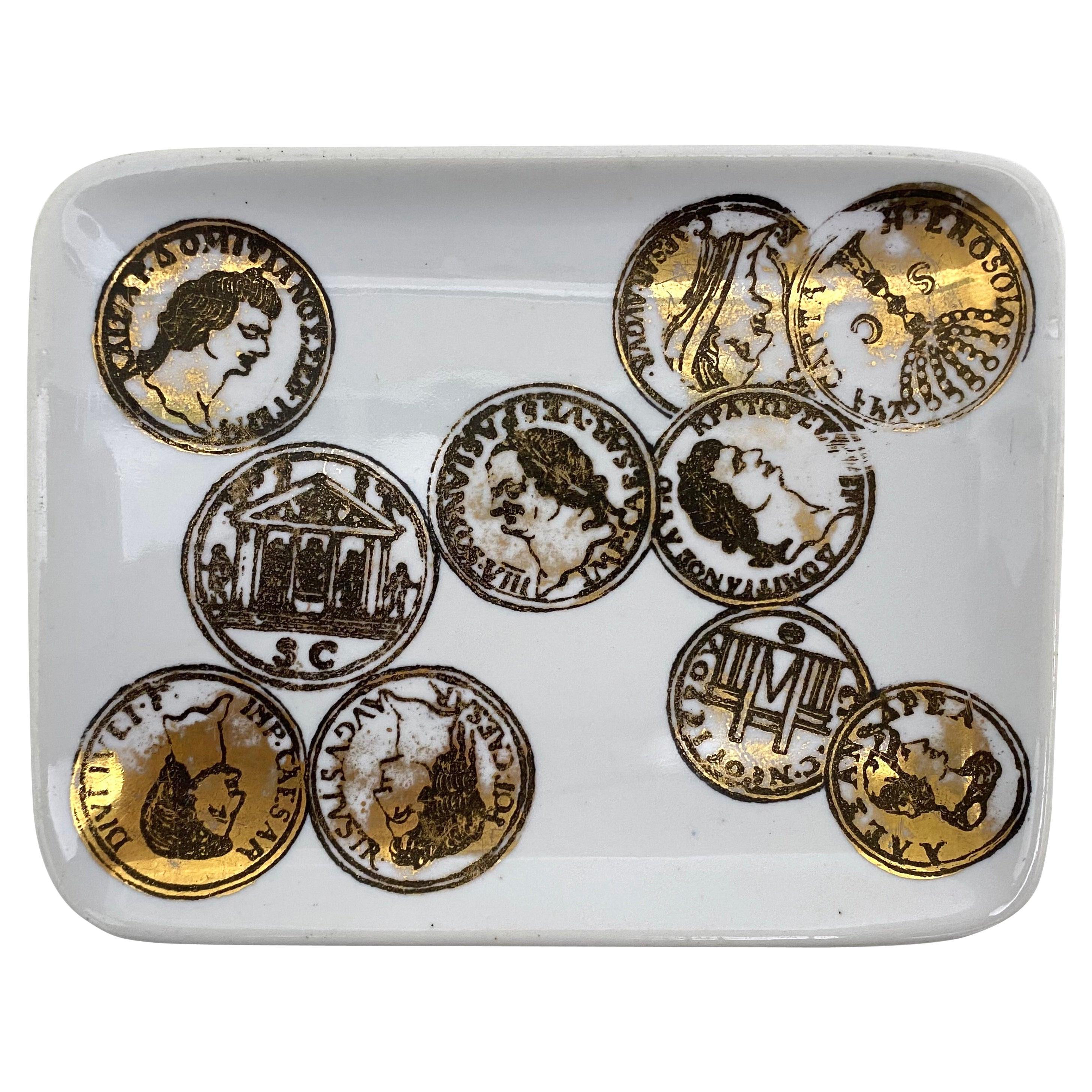 Fornasetti Italian Roman Coins Pin Tray