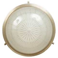 1960s Sergio Mazza Petite 'Sigma' Wall or Ceiling Light for Artemide