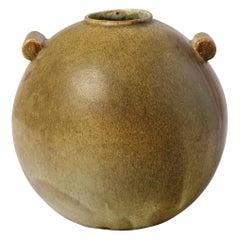 Stoneware Vase by Leon Pointu, circa 1930, France