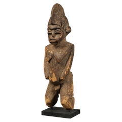 Ancient Weathered and Eroded Powerful Standing Lobi Figure