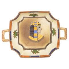 Vintage Egyptian Porcelain Ashtray