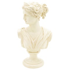 Plaster Bust of Diana of Versailles