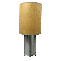 Vintage Steel Floor Lamp by Gaetano Sciolari for Sciolari, 1970s