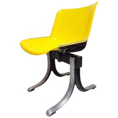 "Chair ""Modus"" Tecno Design Ovaldo Borsani Eugenio Gerli, 1970s Rare Version"
