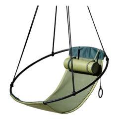 Sling Outdoor Hanging Swing Seat Vegan Eco Friendly, Green