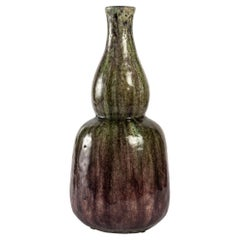 Porcelain Stoneware Vase in the Shape of a Double Gourd